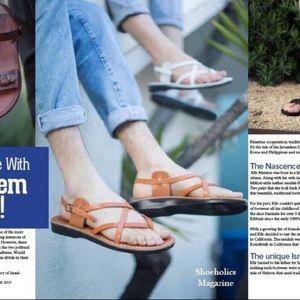 American Apparel Handmade Jerusalem Sandals